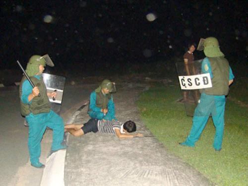 Hà Tĩnh: Cảnh sát mật phục bắt nóng tên cướp mang nhiều tiền án