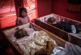 Ngôi làng có tập tục sống chung nhà với thi thể người chết cả năm trời
