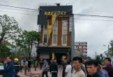 Hà Tĩnh:  Quán karaoke vừa khai trương đã bốc cháy dữ dội