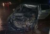 Hà Tĩnh: Xe khách đối đầu taxi, 3 người thương vong