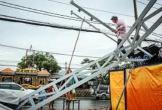 Quận ở Sài Gòn ngổn ngang sau trận mưa giông
