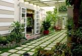 Những kiểu thiết kế sân vườn đẹp với hồ cá, bể bơi, cây cảnh... không thể bỏ qua