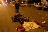 Ngã xuống đường, đôi nam nữ bị xe đầu kéo cán trên Xa lộ Hà Nội