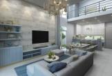 Không gian nội thất phòng khách thượng lưu
