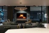 Phòng khách ấm cúng giữ lửa cho gia đình