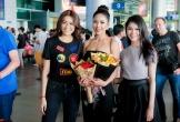 Á hậu Nguyễn Thị Loan rạng rỡ trở về sau cuộc thi Hoa hậu Hoàn vũ
