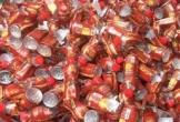 Hải quan Hà Tĩnh: Tiêu hủy 1.920 chai nước trà thảo dược