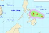 Áp thấp nhiệt đới khả năng mạnh lên thành bão vào Biển Đông