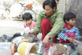 Xót xa người mẹ nghèo