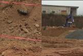 Phát hiện bom khi đào móng xây trường mầm non ở Hà Tĩnh