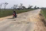 Đường tỉnh Hà Tĩnh xuống cấp nghiêm trọng