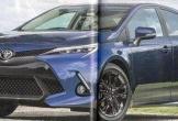 Toyota Corolla 2019 lộ diện không che, đẹp như Camry