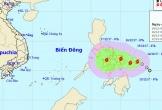 Áp thấp nhiệt đới gần Biển Đông đã thành bão, giật cấp 10