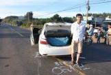 Bắt tài xế taxi chở 300kg pháo lậu từ Kon Tum về Gia Lai tiêu thụ