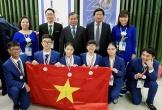Việt Nam giành ba huy chương bạc Olympic khoa học trẻ quốc tế