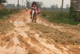 Hà Tĩnh: Khốn khổ với con đường lầy lội hơn... ruộng