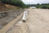 Hà Tĩnh: Đường Quốc phòng vừa đưa vào sử dụng đã xuống cấp