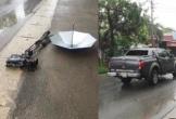 Bắt khẩn cấp lái xe đâm nát máy quay của VTV