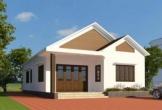 Thiết kế nhà cấp 4 tiện nghi ngay tại thành phố cho vợ chồng trẻ giá từ 200 đến 240 triệu
