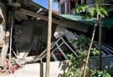 Hà Tĩnh: Tai nạn kinh hoàng, xe container đâm sập nhà dân trên Quốc lộ