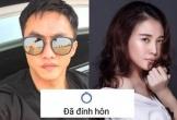 Cường Đô La và Đàm Thu Trang đồng loạt chia sẻ 'đã đính hôn'
