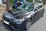 BMW M5 duy nhất VN xuất hiện trước nhà Quốc Cường Gia Lai