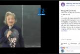 Xúc động bài giảng hơn 3 triệu người xem của cô giáo 88 tuổi