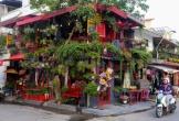 Quán cà phê ngập sắc hoa theo phong cách Pháp ở Sài Gòn