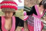 Dân mạng phẫn nộ hình ảnh cô gái mặc trang phục dân tộc gây phản cảm
