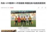 Sự tệ hại của bóng đá Trung Quốc khi đối đầu với Việt Nam ở cấp độ trẻ