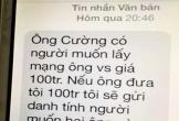 Chánh văn phòng Đoàn Đại biểu Quốc hội tỉnh bị nhắn tin đe dọa, tống tiền