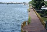Cầu đi bộ gỗ lim tiền tỉ giữa dòng sông Hương