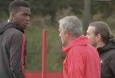 Lý do Mourinho và Pogba giận nhau trên sân tập Carrington