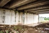 Hai cầu trên đường cao tốc Đà Nẵng - Quảng Ngãi bị thấm nước mưa
