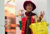 MC Quyền Linh mặc váy hoa sặc sỡ, trở thành mẫu