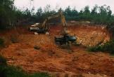Xã Thường Nga (Can Lộc, Hà Tĩnh): Khai thác đất trái phép rầm rộ và ngang nhiên