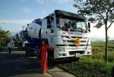 Sếp huy động đoàn xe trộn bê tông mới tậu cho nhân viên đi… rước dâu