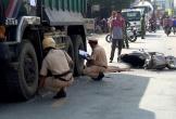 Bé gái tử vong thương tâm dưới bánh xe tải sau va chạm