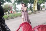 Chi Pu lộ vòng hai to bất thường, đi chơi với bạn trai tin đồn xứ Hàn ở Hội An