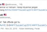 CĐV châu Á bất bình vì Việt Nam mất oan bàn thắng