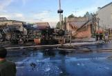 Xe bồn chở xăng cháy, 6 người chết