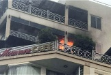 Cháy khách sạn ở phố cổ Hà Nội