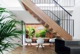 Nhà nhỏ 45m2 cũng biến thành thiên đường với không gian sống thoáng mát cùng khu vườn phủ đầy cây xanh mát
