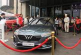 Nóng: Dàn xe ôtô Vinfast đã có mặt tại Hà Tĩnh sáng nay