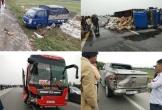 Hà Tĩnh: Hành khách nháo nhác nhảy xuống đường sau tai nạn liên hoàn