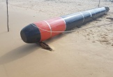 Phát hiện vật thể nghi là ngư lôi trên biển Phú Yên