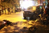Xe Lexus tông gần chục xe trên phố Hà Nội: Nhân chứng kể lại phút kinh hoàng