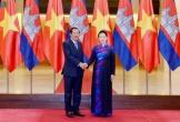 Chủ tịch Quốc hội hội kiến Thủ tướng Chính phủ Vương Quốc Campuchia
