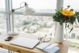 Decor góc làm việc tại nhà đơn giản mà hiện đại đón Xuân sang