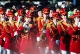 Người Hàn Quốc ấn tượng với màn trình diễn hoành tráng của đội cổ động Triều Tiên